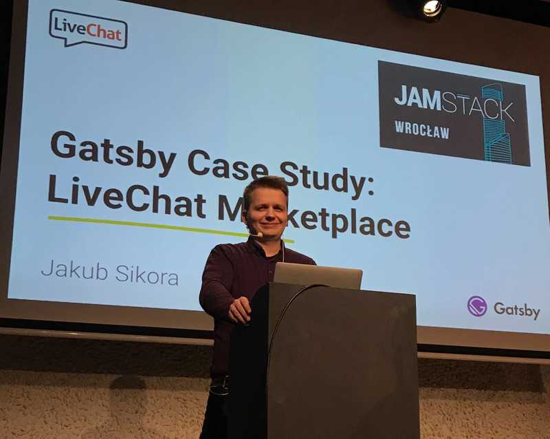 Gatsby Case Study: the LiveChat Marketplace
