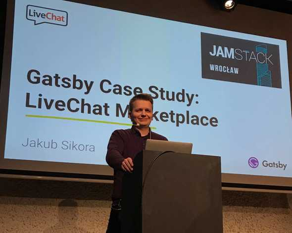 LiveChat Marketplace case study at JAMstack